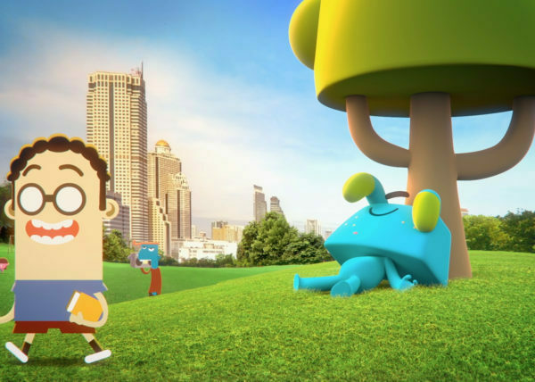 Spot de Animación 3d | Movistar Junior